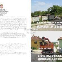 Divlje deponije - problem JKP na terenu i Grada na konkursu Ministarstva za dodelu sredstava (FOTO, VIDEO)