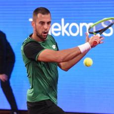 ĐERE RAZOČARAO: Kvalifikant ga savladao u dva seta na Serbia openu