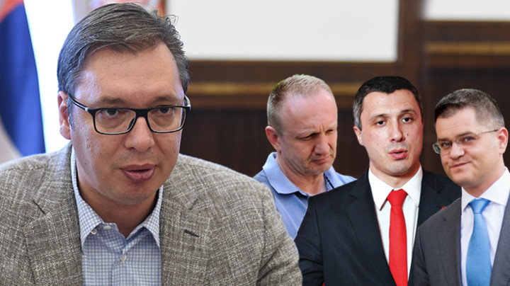 ĐILAS, JEREMIĆ i OBRADOVIĆ bi bili NAJSREĆNIJI da se VUČIĆU zabranipravo na rad i pravo na bavljenje politikom!