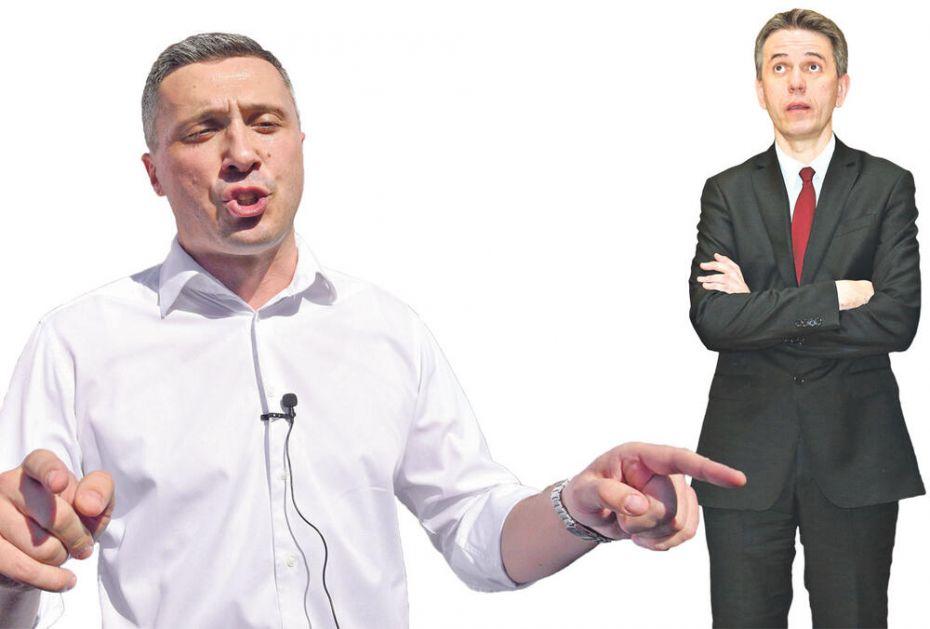 ĐILASOVI SIMPATIZERI NAPALI BOŠKA I RADULOVIĆA: Novi razdor među opozicionim strankama!