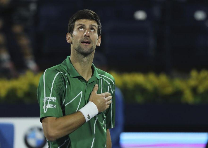 ĐOKOVIĆ JE ZVER! Evo šta je Novak rekao o svojoj ČUDESNOJ igri u Dubaiju (VIDEO)