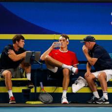 ĐOKOVIĆ NA UDARU AMERIKANCA: Ne sviđa mu se povećanje bodovne prednosti Novaka, ni njegov rekord!