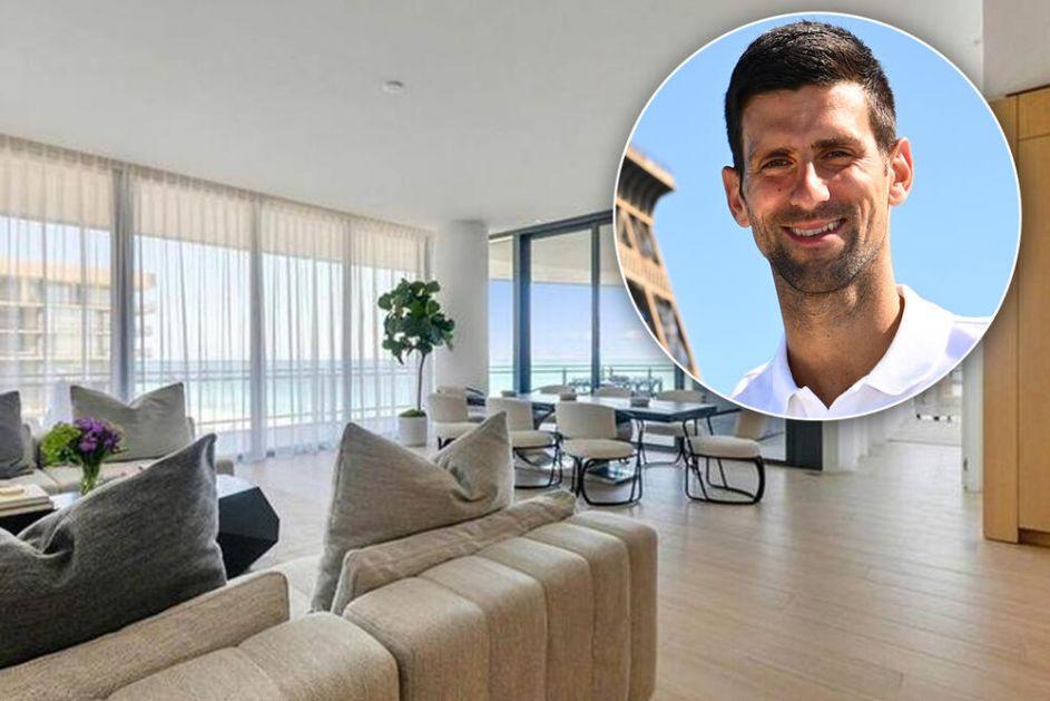 ĐOKOVIĆ NIJE USPEŠAN SAMO NA TERENU: Novak prodao luksuzan stan u Majamiju i DOBRO zaradio! Zavirite u LUKSUZ kojeg se ODREKAO