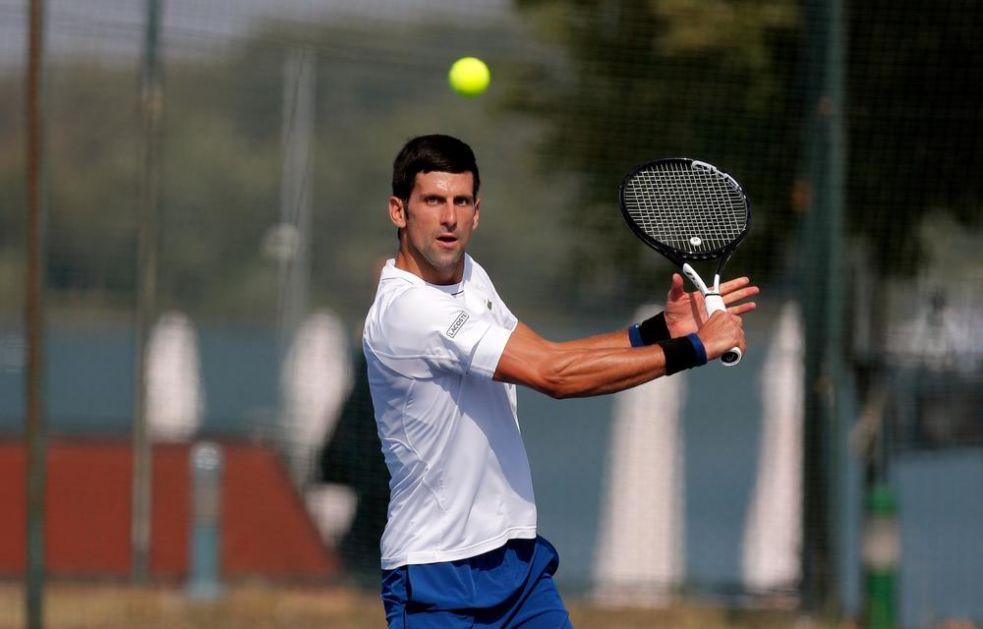 ĐOKOVIĆ ZAVRŠIO ODMOR: Novak novu sezonu počinje sutra, prvi rival je teniser koji je najavio smenu generacija