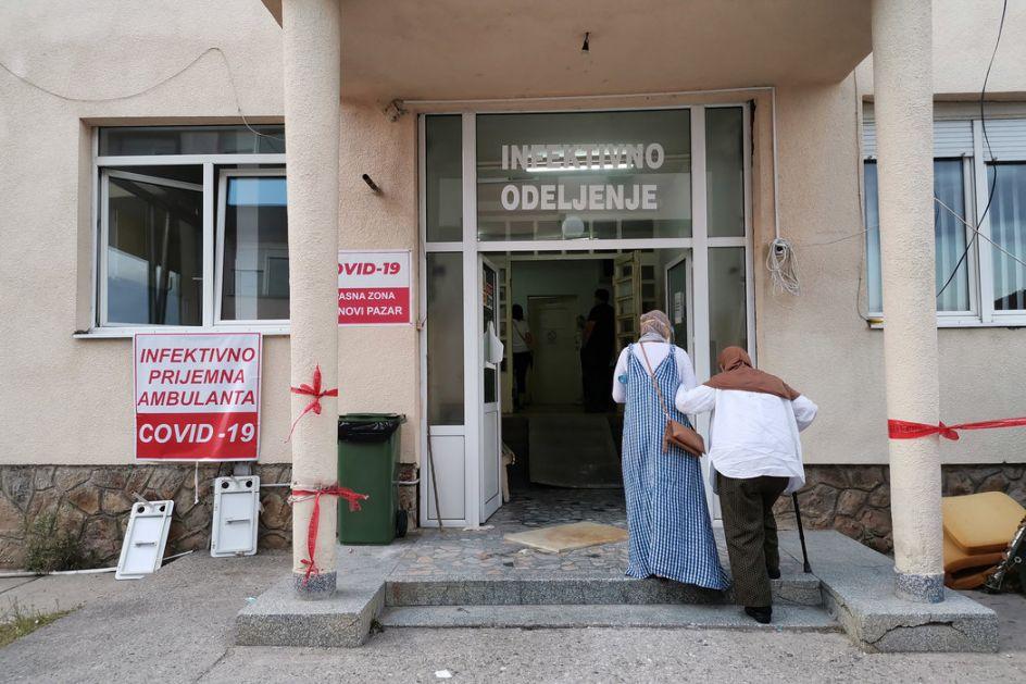 U KC Kragujevac 125 pacijenata, u bolnici u Novom Pazaru 183 hospitalizovanih, pomaže Vojska