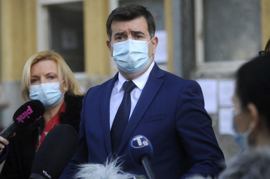 Đerlek: U Srbiji vakcinisano više od 22.000 ljudi, u planu otvaranje 300 punktova