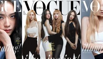 Djevojke iz Blackpinka na naslovnici korejskog Voguea