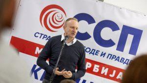 Đilas: SSP potvrdio bojkot izbora