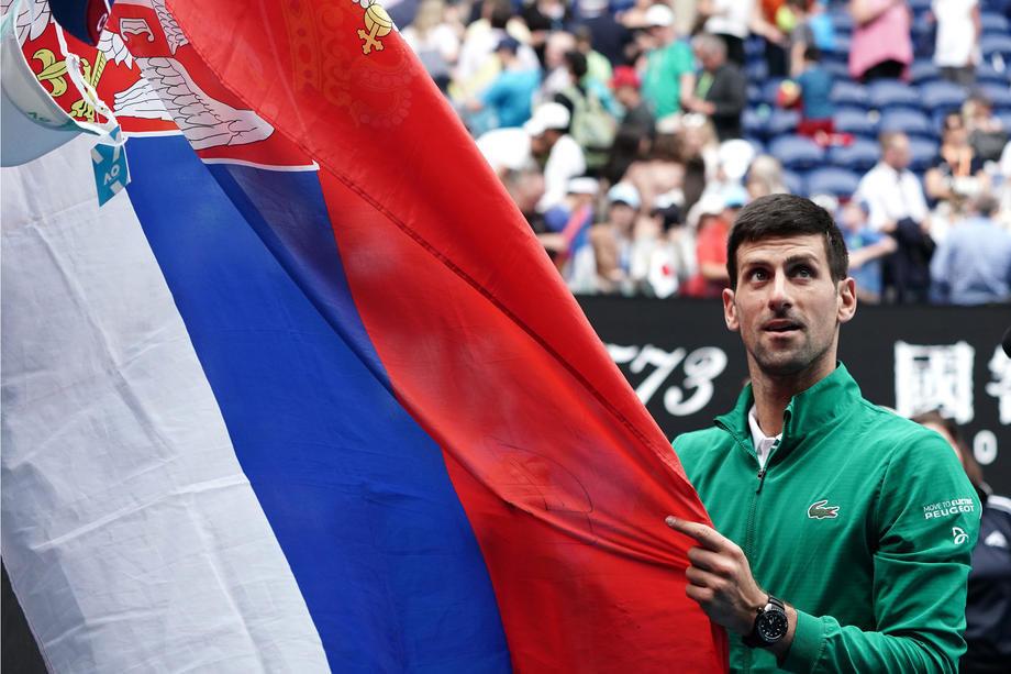 Đoković nakon dva meseca ponovo u Srbiji
