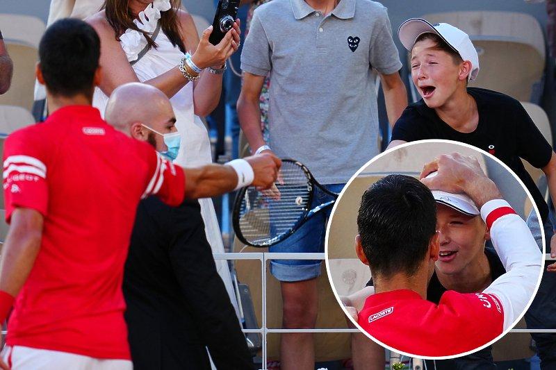 Đoković nakon pobjede u finalu poklonio reket dječaku: Čuo sam ga sve vrijeme