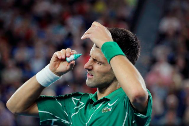 Đoković optimista pred meč sa Federerom