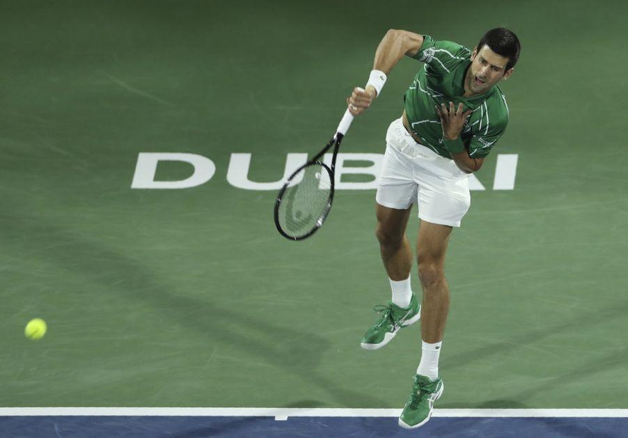 Đoković suvereno do nove titule u Dubaiju!