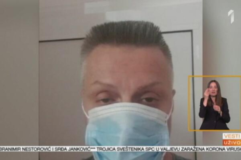Đorđe David iz bolnice: Čuvajte se ljudi, ne treba vam ovo