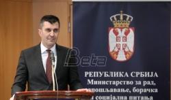 Djordjević: Srbija teži da stvori društvo jednakih mogućnosti