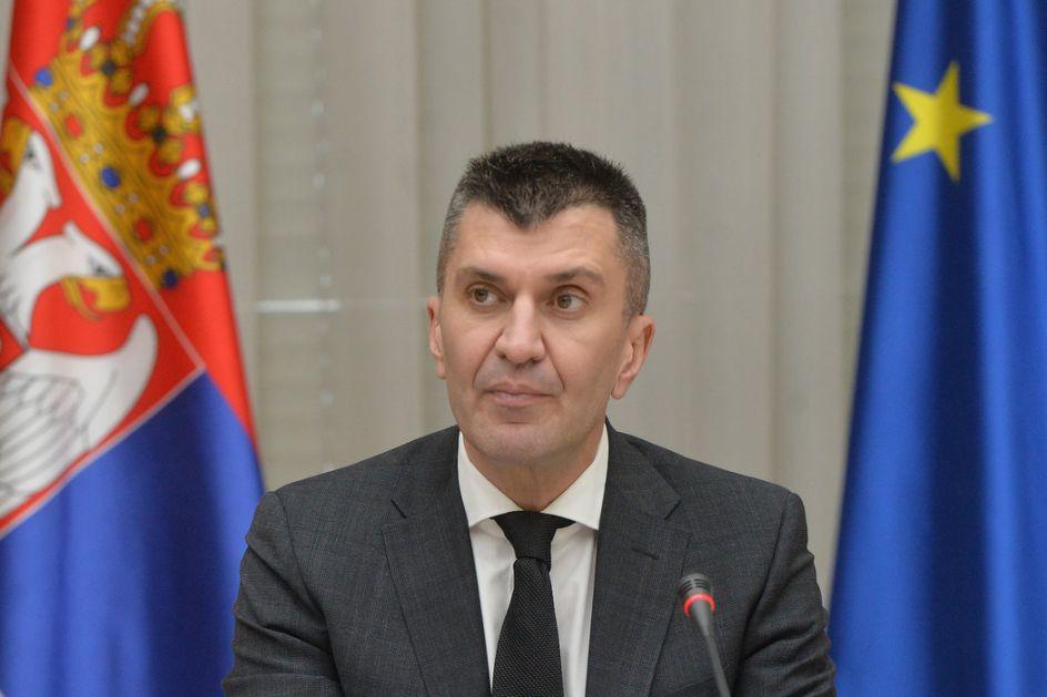 Đorđević i Harčenko o unapređenju bilateralne saradnje