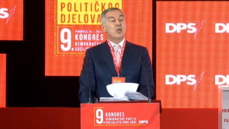 Milo Đukanović ostaje predsjednik DPS-a