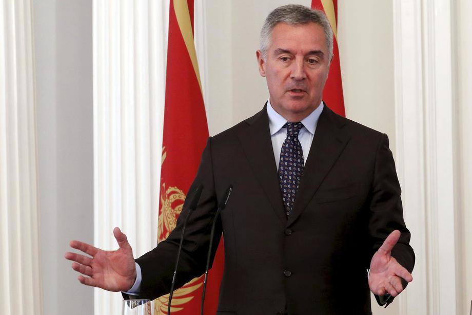 Đukanović podržao dijalog Beograda i Prištine