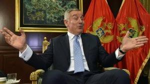 Đukanović pozvao EU da ne prepušta Zapadni Balkan Rusiji