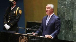 Đukanović u Njujorku: Obnovljena opasnost destabilizacije Zapadnog Balkana