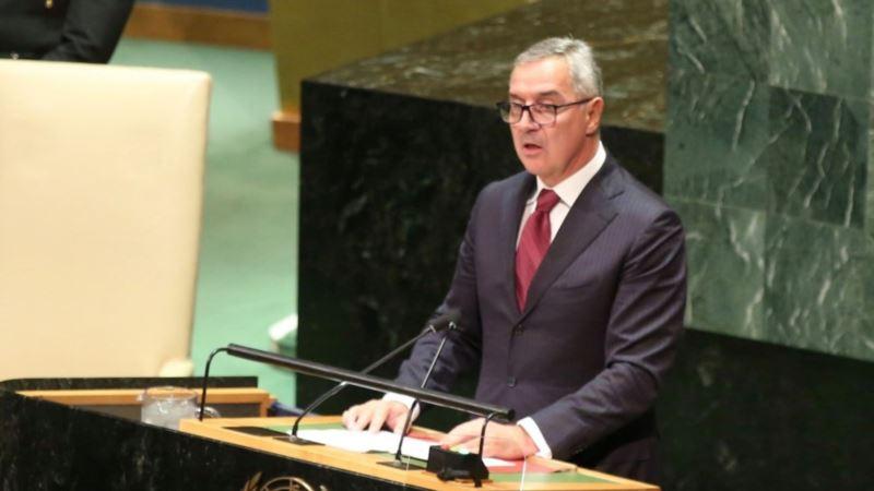 Đukanović u UN: Crna Gora dobar i odgovoran susjed