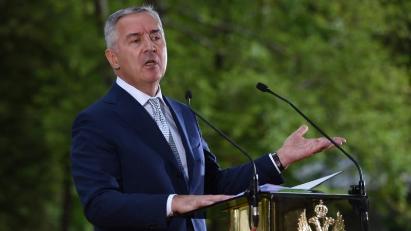 Đukanović za VOA: Crna Gora nije napravila ni milimetarski pomak u evroatlantskoj agendi