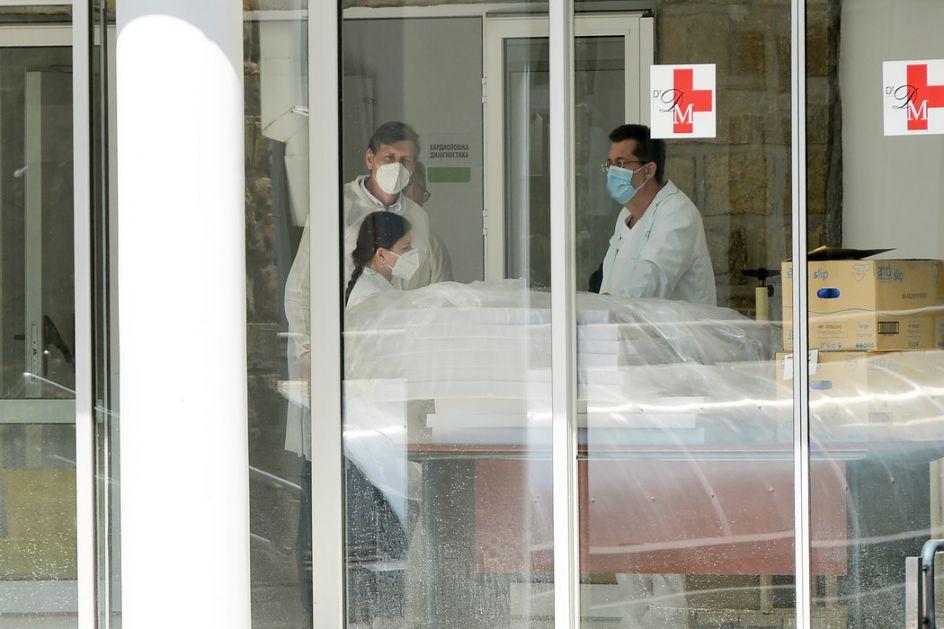 Đukić: Na KBC Dragiša Mišović trenutno manje od 50 pacijenata sa koronavirusom