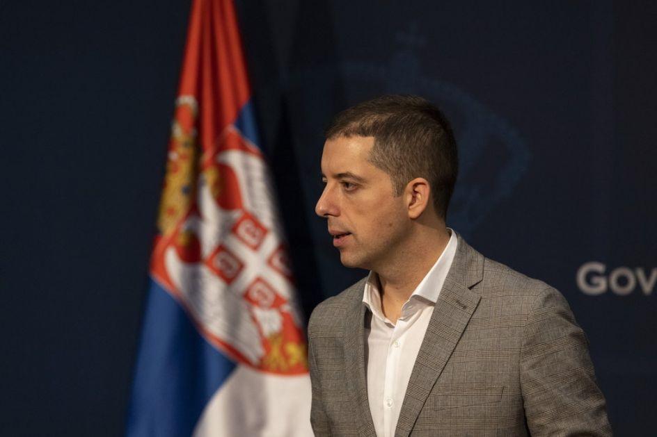 Đurić: Tražio sam od međunarodne zajednice da sankcioniše Prištinu