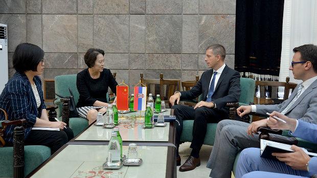 Đurić i Čen Bo: Srbija i Kina pred sobom imaju neograničene perspektive za saradnju