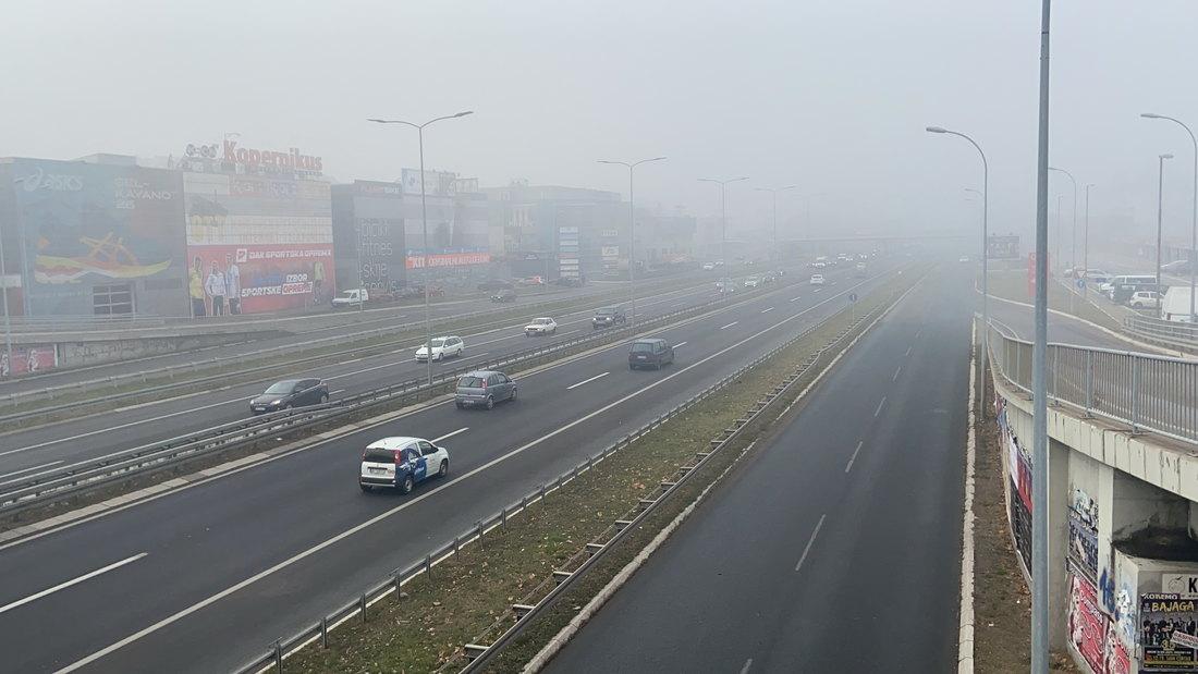 Oprez zbog kiše i magle