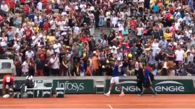 Dobrodošlica za Novaka u Parizu