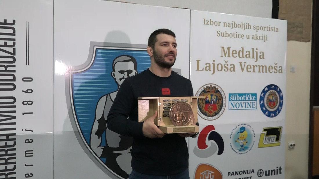 Dodeljene medalje Lajoša Vermeša za najbolje sportiste Subotice u 2020.