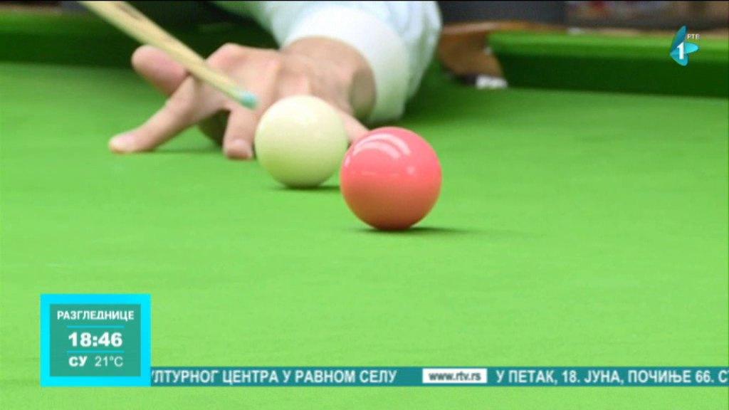 Dodeljeni trofeji za 9 turnira prve sezone snuker lige Vojvodine