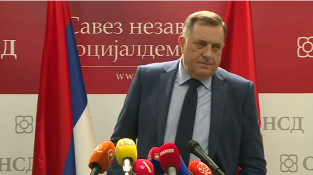 Dodik: Banjaluka će uvek podržavati Vučića, a ne Izetbegovića