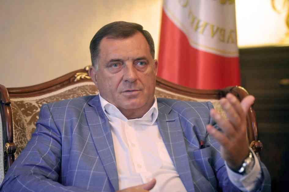 Dodik: Da li smo Saliven i ja bili na istom sastanku!?