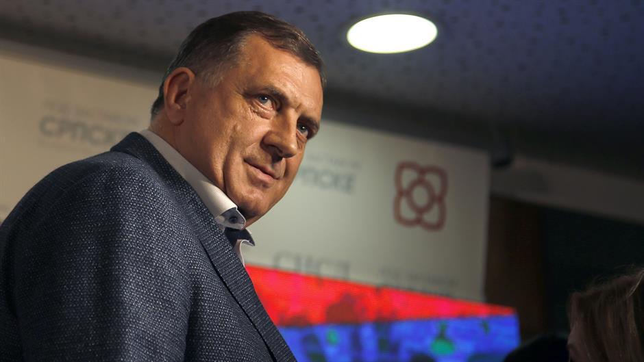 Dodik: Komsic has a legitimacy crisis