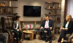 Dodik: Pitanje granice sa Srbijom rešiti na način koji je predložio Beograd