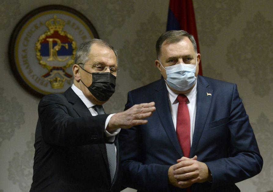 Dodik: Šef diplomatije Ukrajine da prestane da se igra države