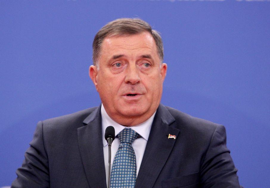 Dodik: Zvizdićeva poseta Americi je lični čin