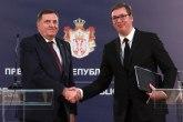 Dodik traži pomoć od Vučića