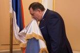 Dodik uneo zastavu Republike Srpske u Predsedništvo BiH