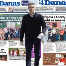 Dok Srbija gradi bolju budućnost, list Danas napada Andreja Vučića: Kad će dobrobit građana stići na red za naslovnu stranu?