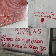 Dok me ima nisi sama, čuvam te do sudnjeg dana: U ovom gradu zidovi pričaju ljubavne priče