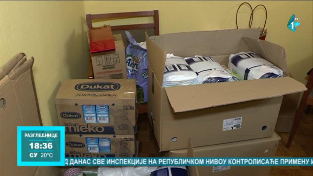 Donacija monahinjima manastira Sveta Petka Izvorska