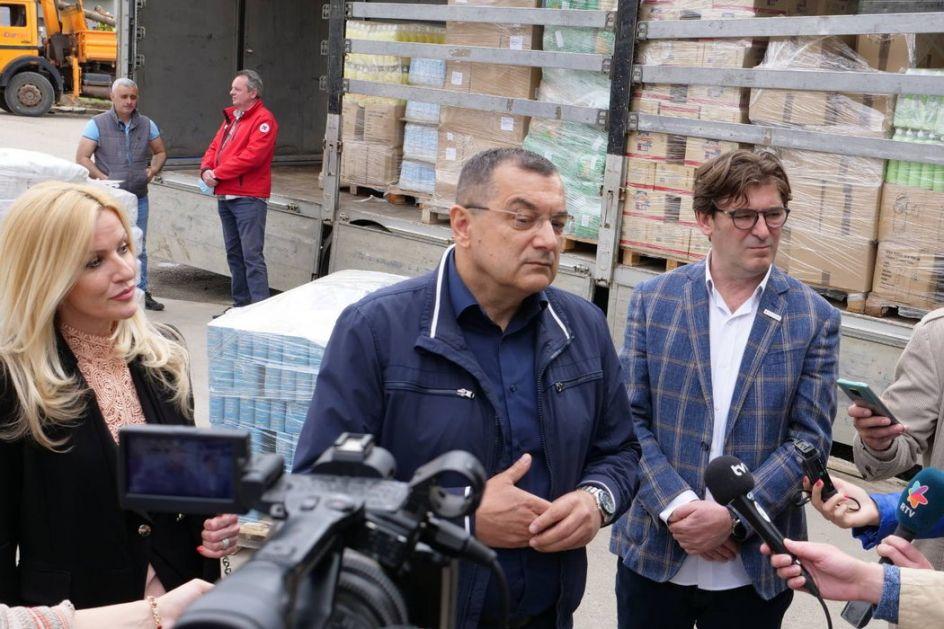 Donacija socijalno ugroženima na Kosovu i Metohiji