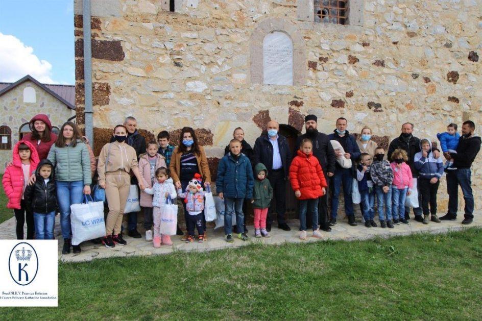 Donacija za ugrožene srpske porodice na Kosovu i Metohiji