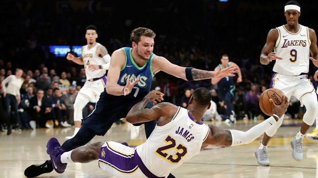 Dončić nastavio dominaciju u NBA i protiv Lebrona Džejmsa