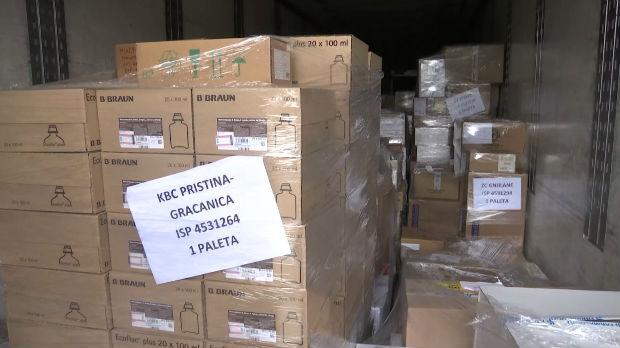 Dopremljena veća količina lekova i sanitetske opreme bolnici u Gračanici