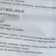 Došao je u Urgentni centar sa RAZBIJENOM GLAVOM - kad je rekao šta se desilo, lekar je pukao od SMEHA! (FOTO)