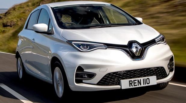 Dostavni Renault Zoe Van