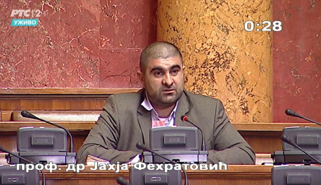 Dr. Fehratović u Skupštini o problemu poštanskih usluga u Sandžaku